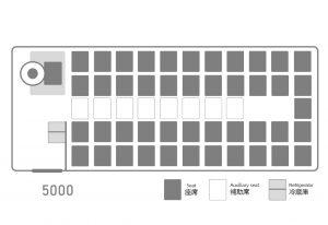 座席表:いすゞJバス5000