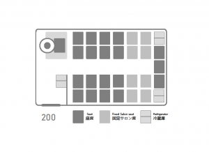 座席表:いすゞJバス300