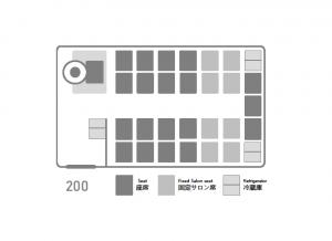 座席表:いすゞJバス200